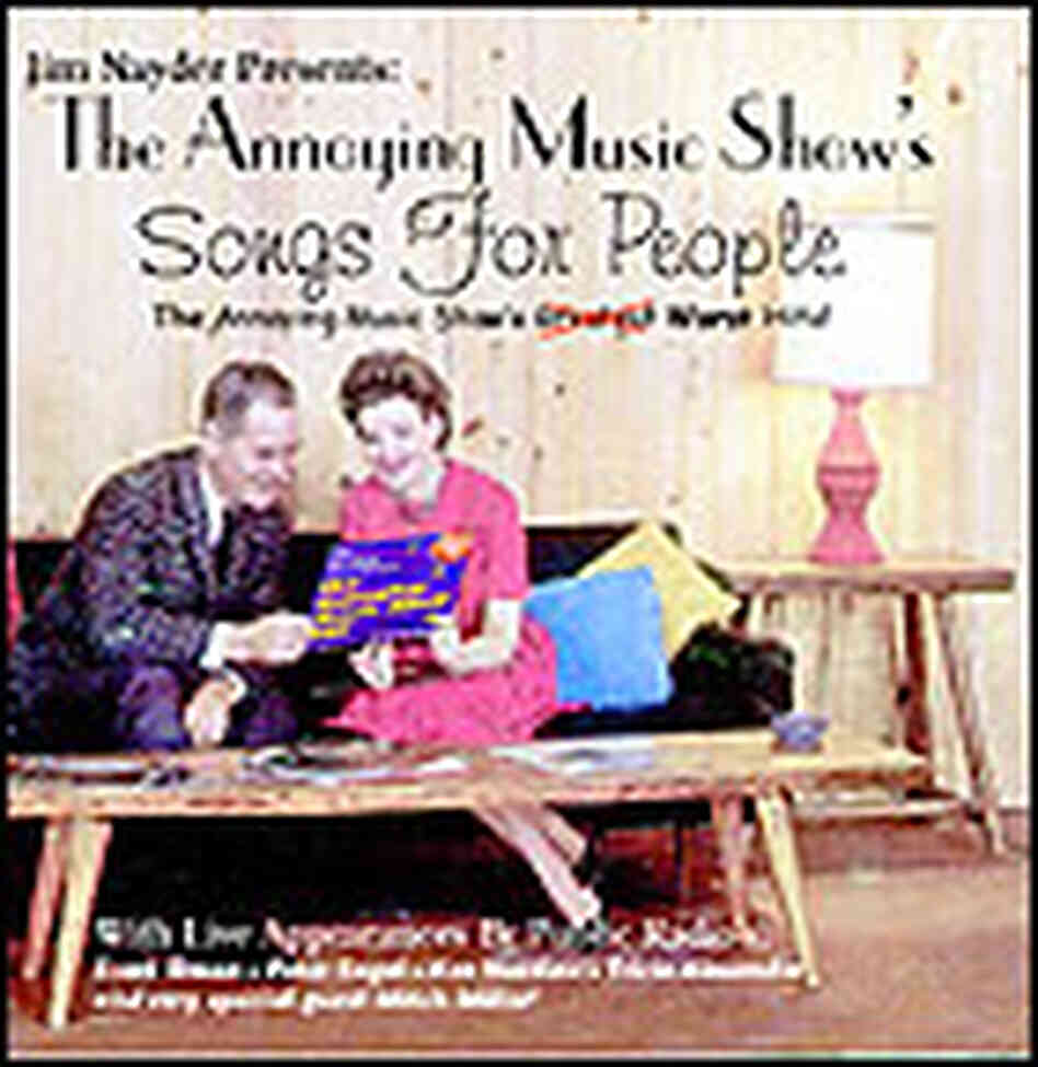 CD cover for Annoying Music CD