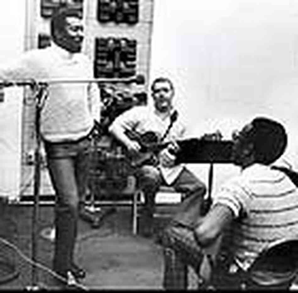 Wilson Pickett, Jimmy Johnson and Bobby Womack
