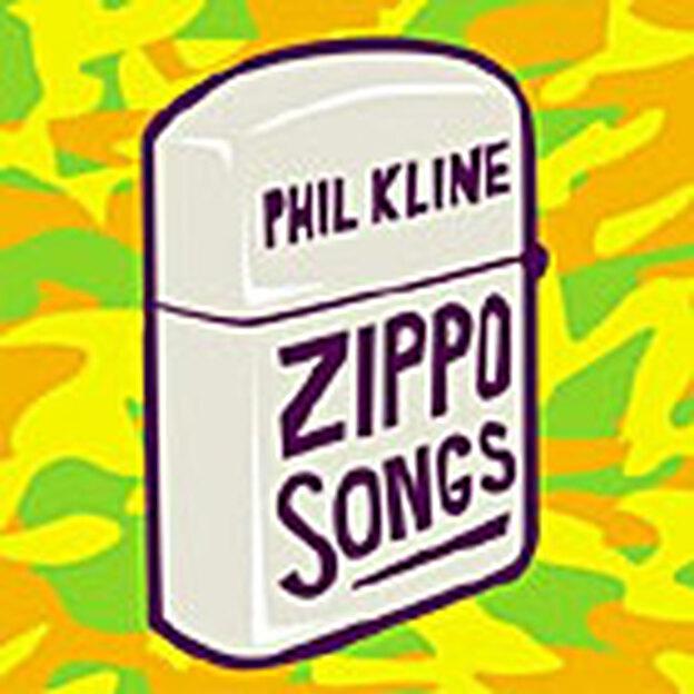 CD cover of 'Zippo Songs.'