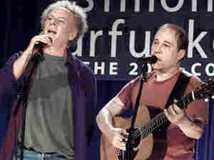 Simon and Garfunkel in 2003.