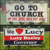 Alabama Billboard, then and now.