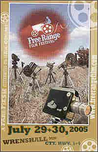 Poster for the Free Range Film Festival