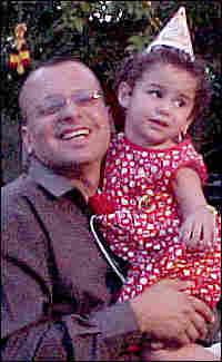 Yasser Salihee and daughter Danya