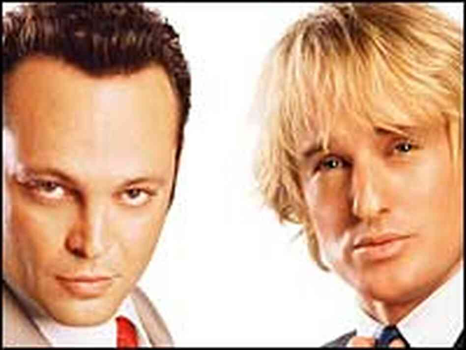Vince Vaughn, Owen Wilson in 'Wedding Crashers'