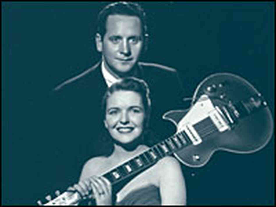 Paul with wife Mary Ford