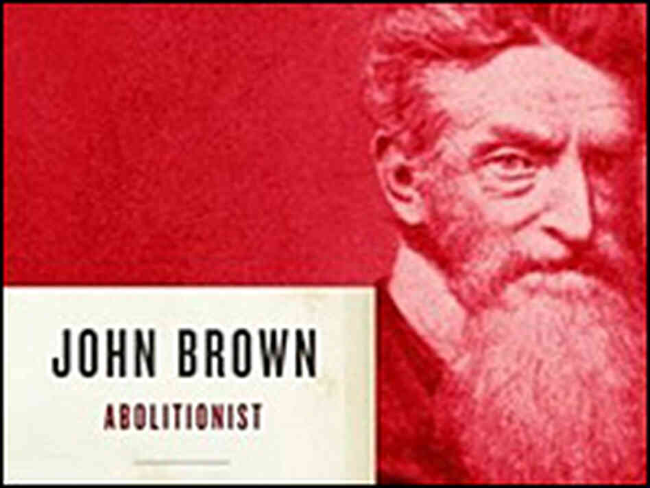 Detail from the cover of 'John Brown, Abolitionist'