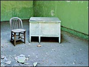 Psychiatric Hospital, Green Room, Island 2
