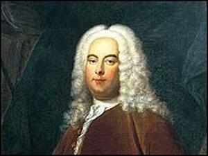 George Frideric Handel.