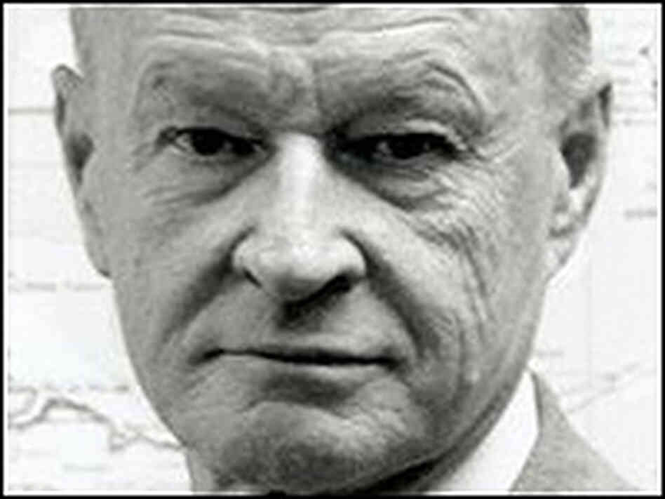 Zbigniew Brzezinski in a black-and-white portrait.