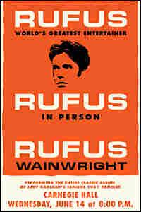 Rufus Wainwright Concert Poster