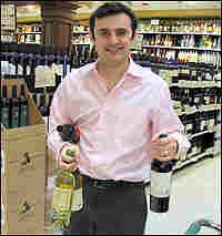 Gary Vaynerchuk assembles a case of wine.