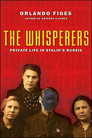 Book Cover, 'The Whisperers'