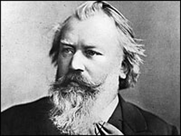 "Brahms said he felt the presence of Beethoven, like a ""giant,"" hovering as he composed his first symphony. (Getty Images)"