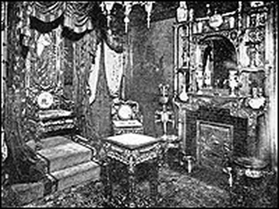 Image of the Japanese Throne Room