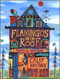 'Flamingos on the Roof' Book Cover