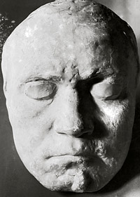 Beethoven's death mask
