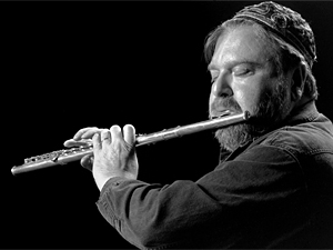 Jazz flutist Mark Weinstein