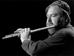 Jazz flutist Mark Weinstein