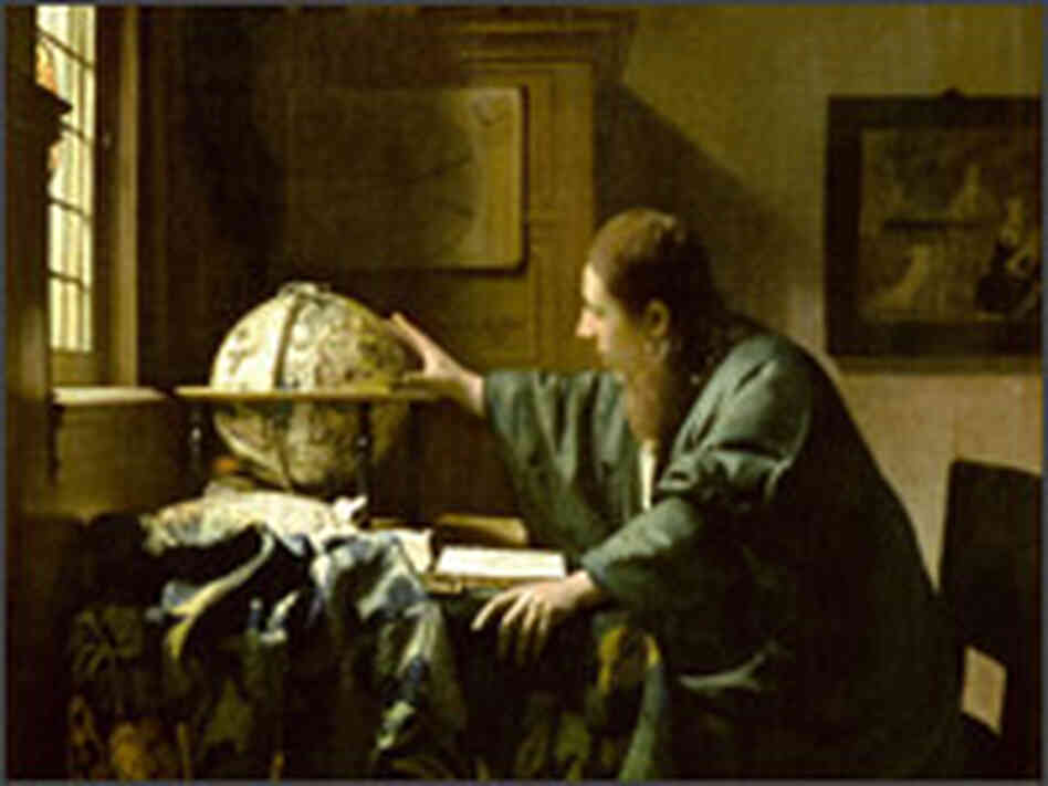 """The Astronomer"" is one of Vermeer's most famous works."