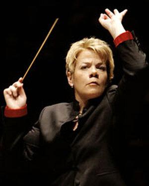 Baltimore Symphony conductor Marin Alsop