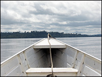 A boat ride down the Xingu reveals little of man's imprint in this Amazon region.