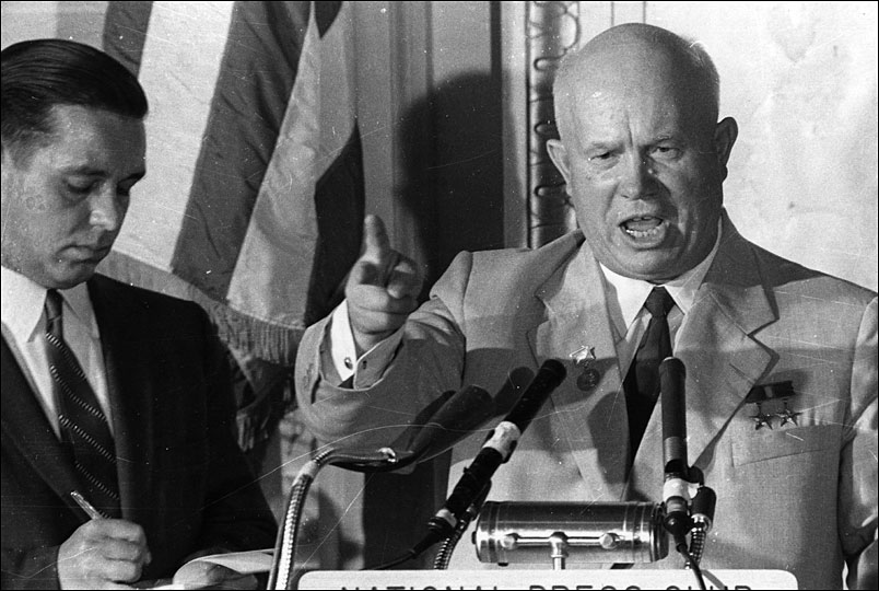 'K Blows Top': Reliving Khrushchev's American Tour | NCPR News
