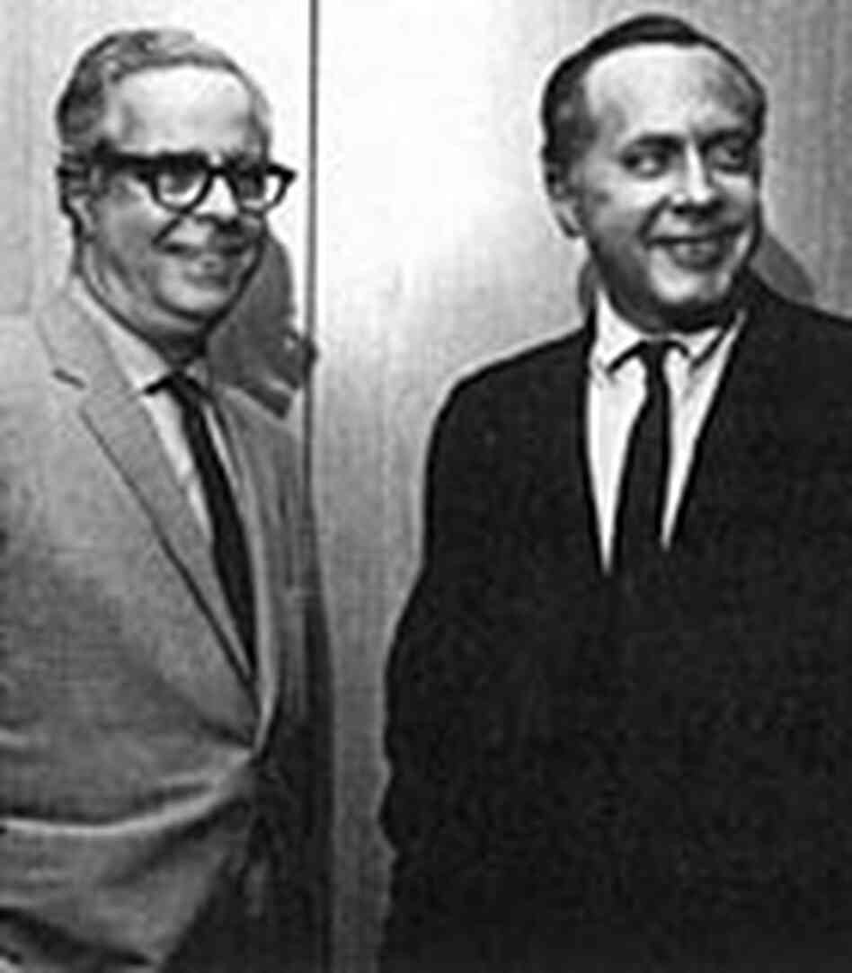Alfred Lion, left, and Francis Wolff