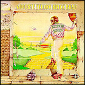 'Goodbye Yellow Brick Road' cover art