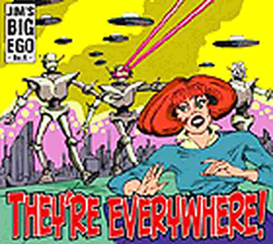 'They're Everywhere' CD cover