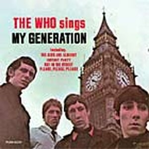 'The Who Sings My Generation' album cover.