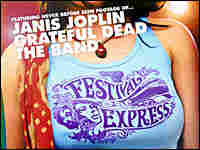 Detail from the poster for 'Festival Express'