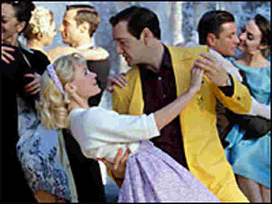 Spacey as Darin with Kate Bosworth as Sandra Dee