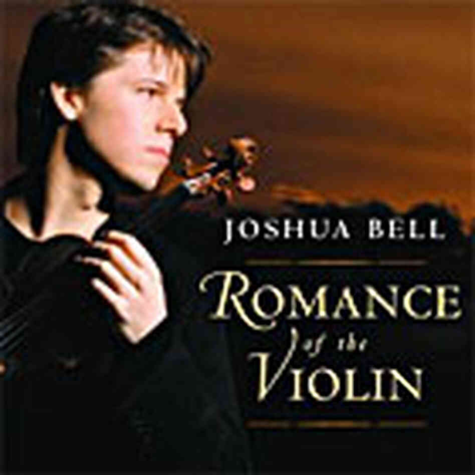 CD Cover of 'Romance of the Violin' from Joshua Bell
