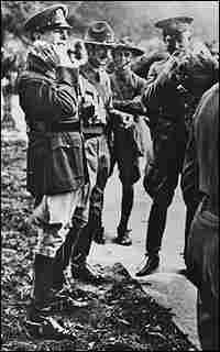MacArthur and Eisenhower