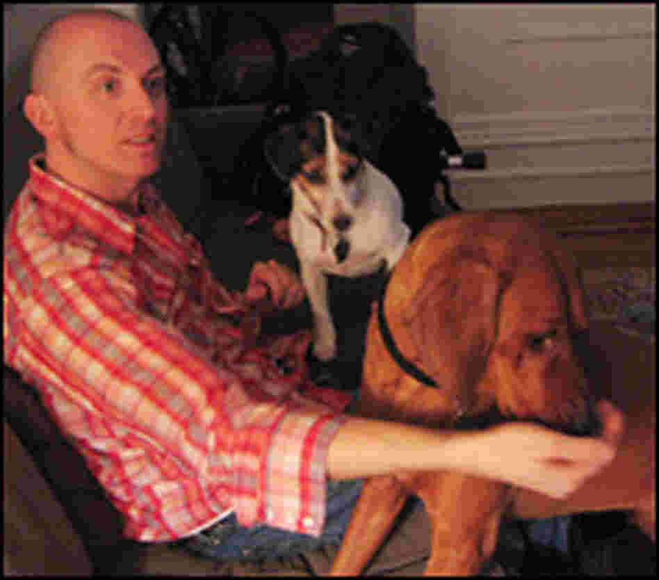 Cantinero with his dogs