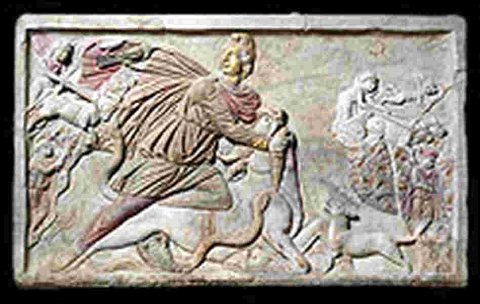 Mythras Slaying the Bull, 3rd Century A.D.