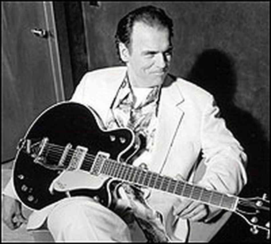 John Hiatt with guitar