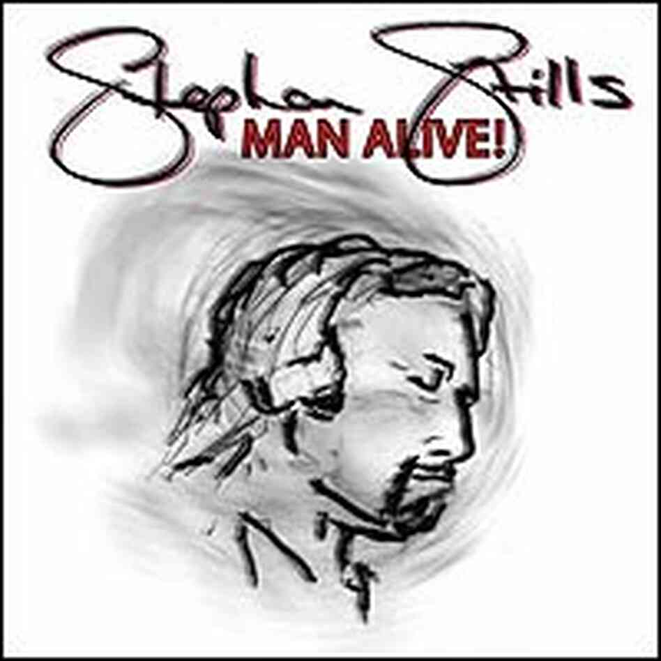 Detail from cover of CD 'Man Alive!'