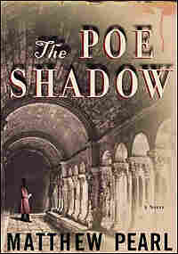 Detail from the cover of 'The Poe Shadow'