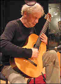 Ralph Towner, playing in NPR's Studio 4A.