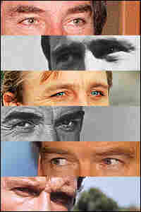 Timothy Dalton, George Lazenby, Daniel Craig, Sean Connery, Pierce Brosnan and Roger Moore.