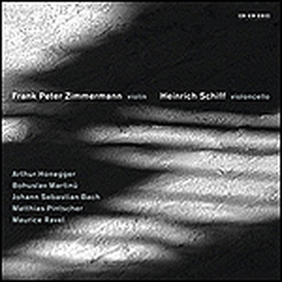 Zimmermann and Schiff Play Honegger, Martinu, Bach, Pintscher, Ravel