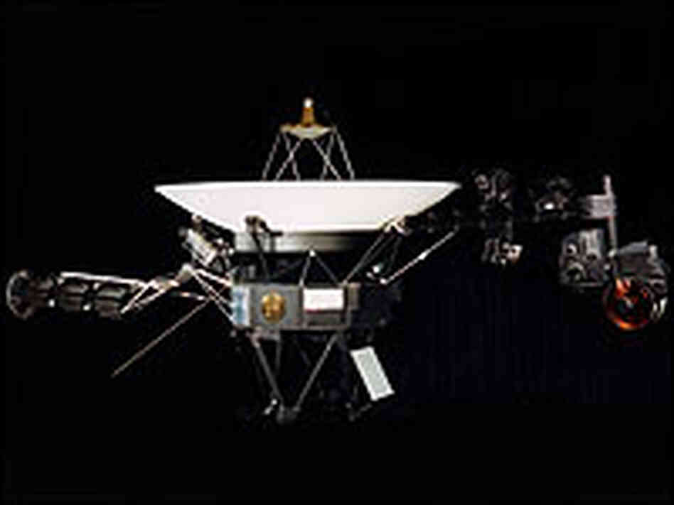 Photo of the Voyager Spacecraft