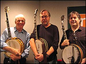 Steve Martin, Tony Trischka and Bela Fleck
