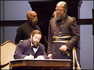Ulysses S. Grant (Andrew Shore) & Brigadier General Edward Alexander (Chad Shelton)