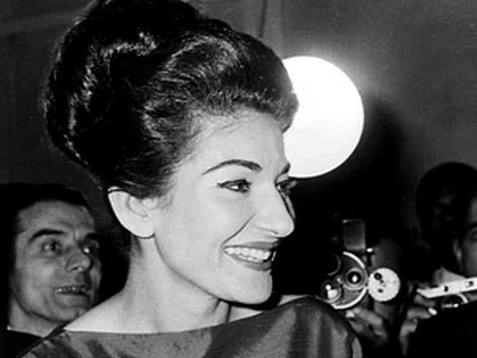 Maria Callas On Stage Soprano maria callas