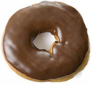A Chocolate Doughnut