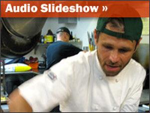 Audio slideshow promo
