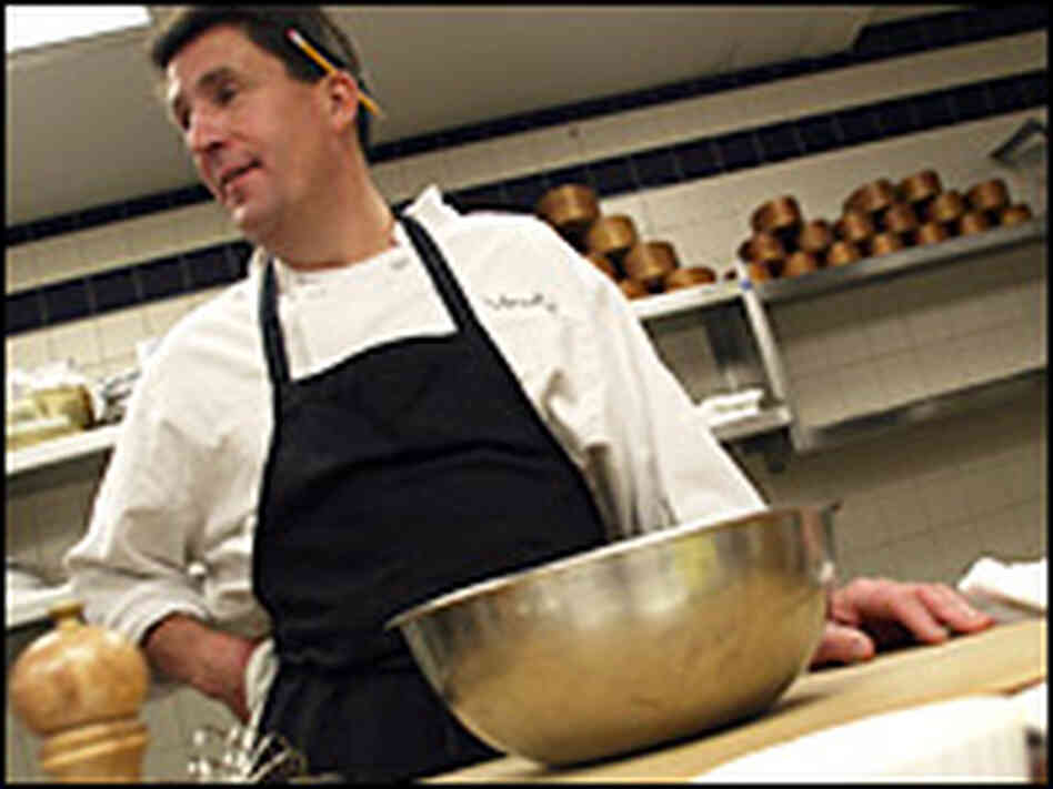 Owner and chef Jeffrey Buben