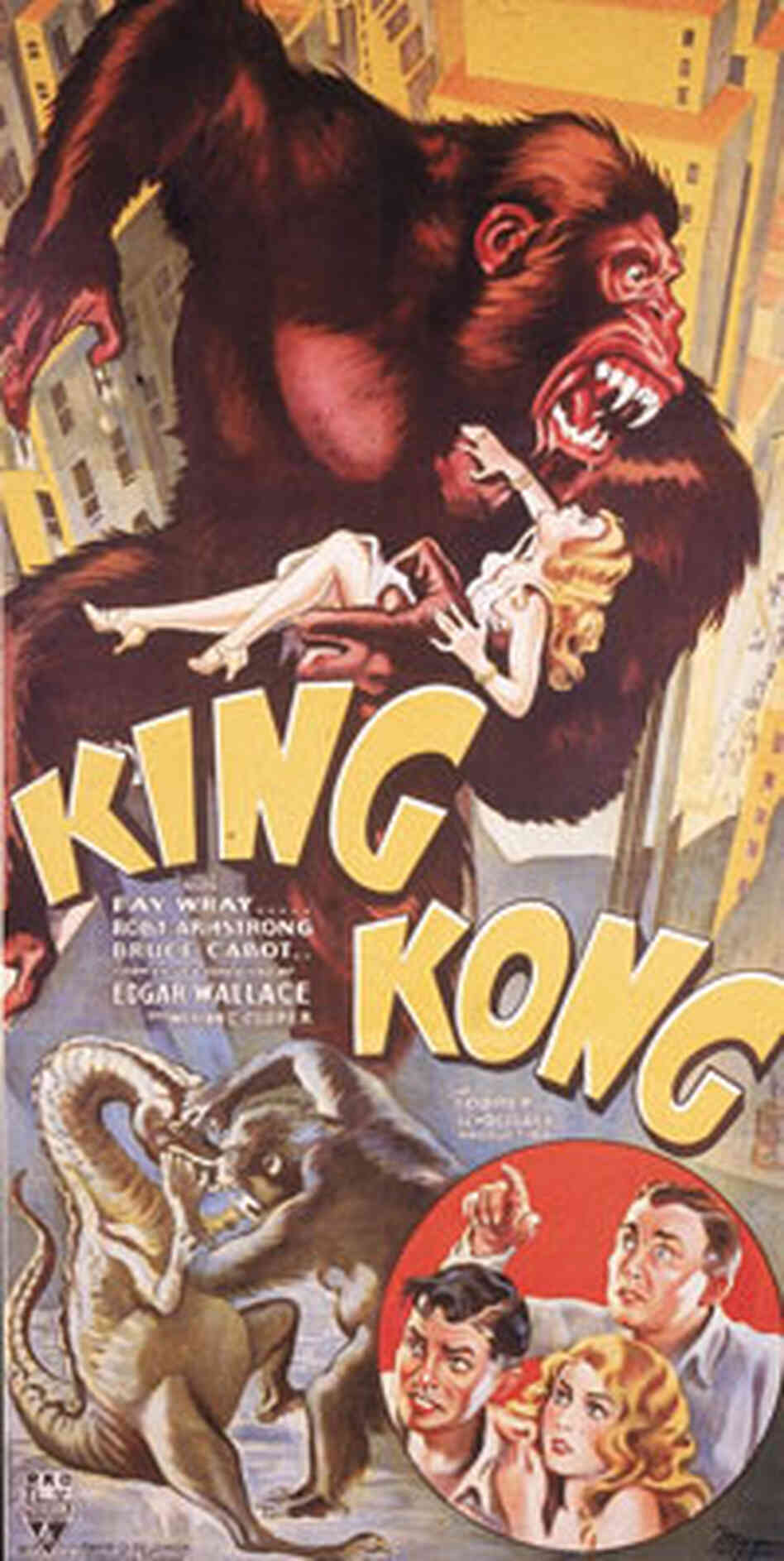 King Kong': The Eighth Wonder of the World : NPR King Kong Empire State Building With Girl
